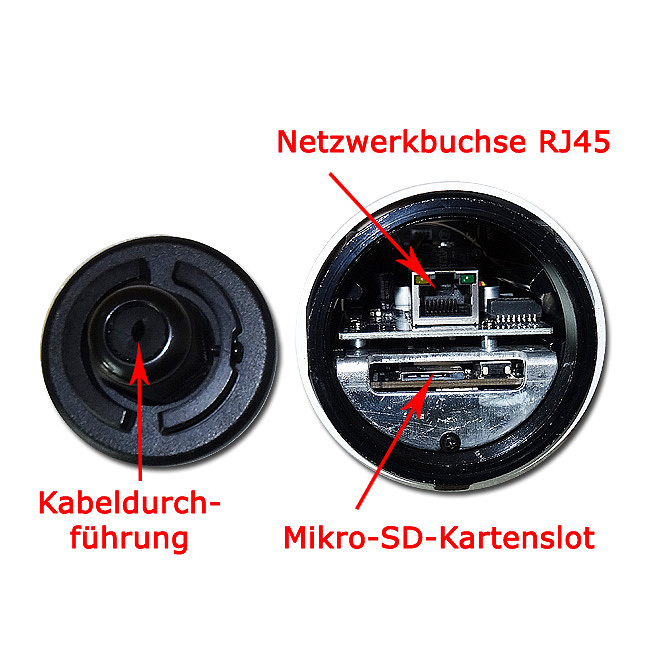 Bild 4 - Milesight 4 Megapixel IP-IR-Mini-Bulletkamera MS-C4463-PB
