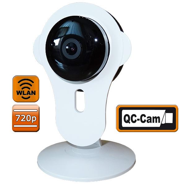 smart home kamera w lan 1 mp ir cut filter qc t1 g nstig kaufen. Black Bedroom Furniture Sets. Home Design Ideas