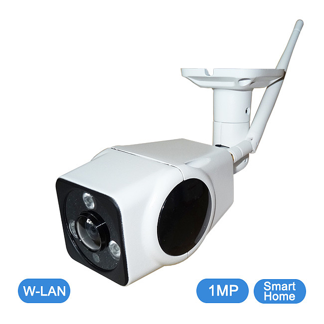 SmartHome 1 MP W-LAN Fisheye Outdoor-Kamera / QC-F09