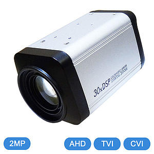 AHD / TVI / CVI 10x Motorzoom-Kamera 1080p IR-Cut / QC-6200AS