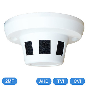 AHD / TVI / CVI-Rauchmelderkamera 2,1MP OSD / 3,6mm