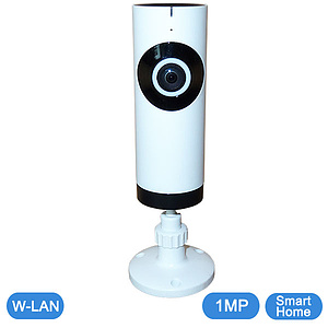 SmartHome W-LAN Fisheye IP-Kamera 1 MP / QC-T3