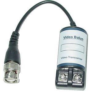 Video-Balun BNC-Stecker / Zweidraht / NT-611A