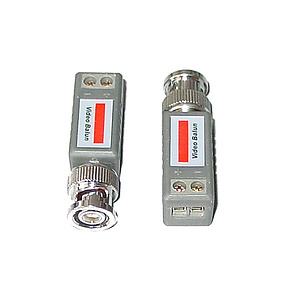 Video-Balun BNC-Stecker / Zweidraht / HJ-202E